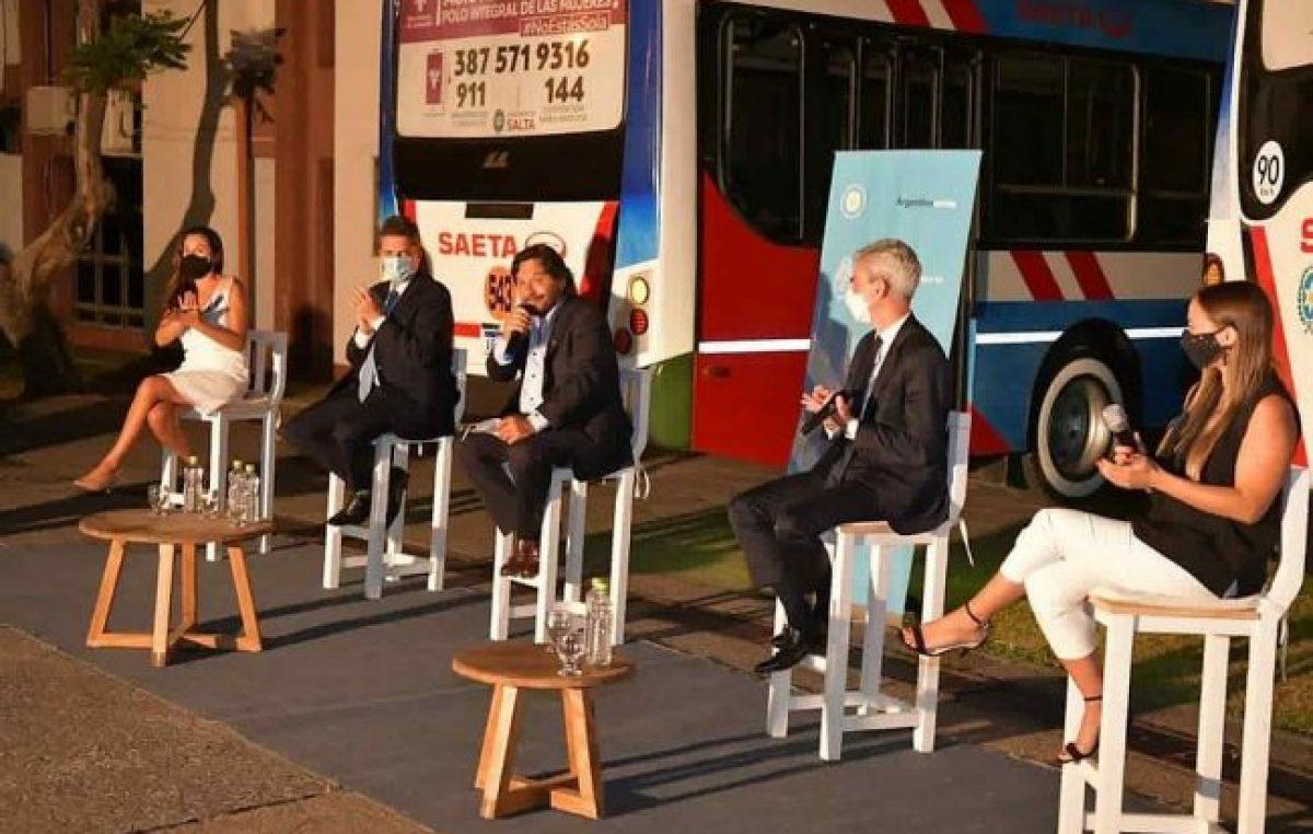 Salta lidera el número de mujeres que trabaja en el transporte público