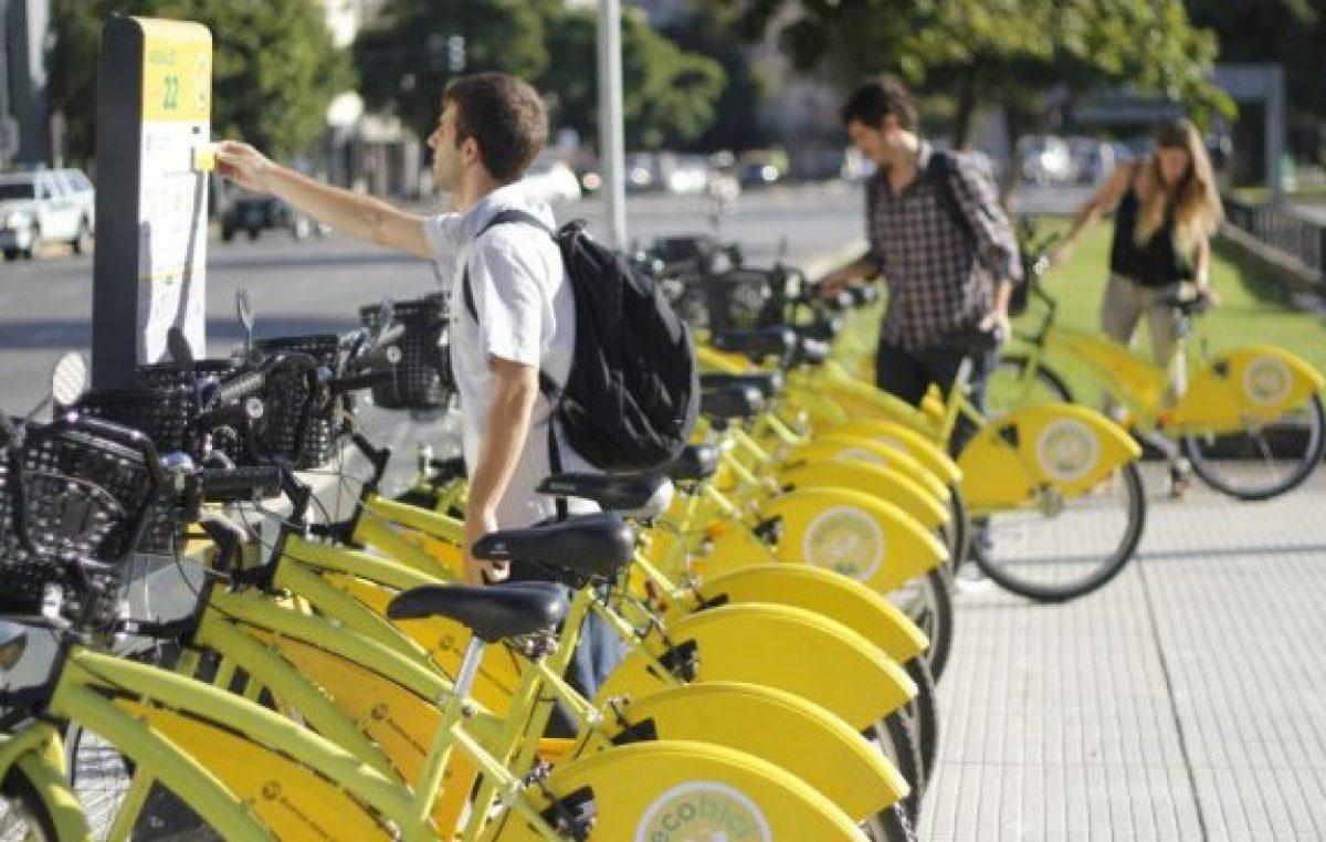 EcoBici podría dejar de ser gratis los fines de semana: comienza el debate en la Legislatura Porteña