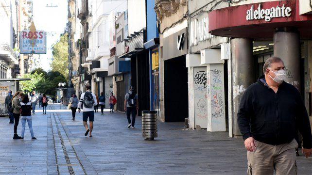 La economía de Rosario sintió las restricciones en septiembre