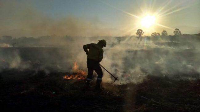 Ya se quemaron más de 22 mil hectáreas por los incendios forestales en las yungas
