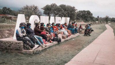 Ya comenzó la marcha de los pueblos originarios hacia Salta