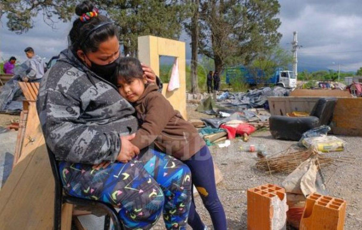 Salta: En barrios precarios, el 68% perdió su empleo o changa