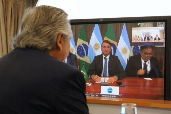 """Alberto Fernández en su primera charla con Jair Bolsonaro: """"Hay que dejar las diferencias del pasado"""""""