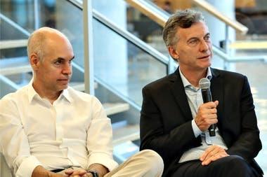 Macri prefiere disputarle a Larreta el liderazgo de la pelea con la Nación