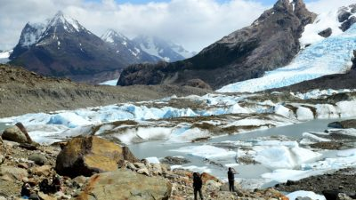«Glaciares escondidos» en el sur santacruceño