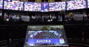 Diputados aprobó transferencia de fondos de CABA a Provincia