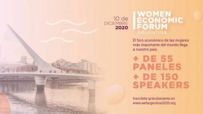 Women Economic Forum, por el empoderamiento económico de las mujeres