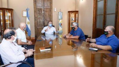 El intendente de Maipú, Matías Stevanato, acordó el pagó de un bono de $11.000 para los empleados de la comuna.