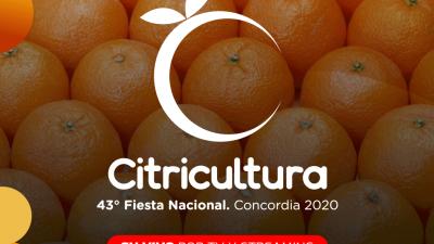 Concordia: comienza la Fiesta Virtual de la Citricultura