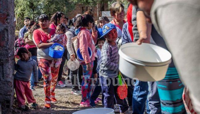 Aseguran que los comedores se cuadruplicaron en Salta