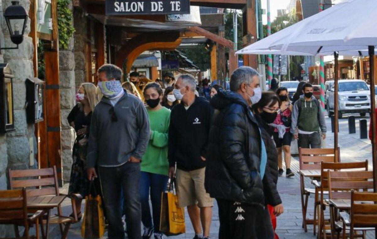 La mitad de los turistas de Bariloche usaron el Previaje y consumen con los reintegros de Nación