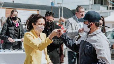 Reconocieron a trabajadores municipales de Ushuaia por su trabajo en pandemia