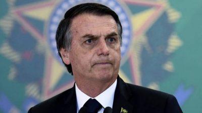 Bolsonaro insultó a la prensa que informó que gastó 2,7 millones de dólares en leche condensad