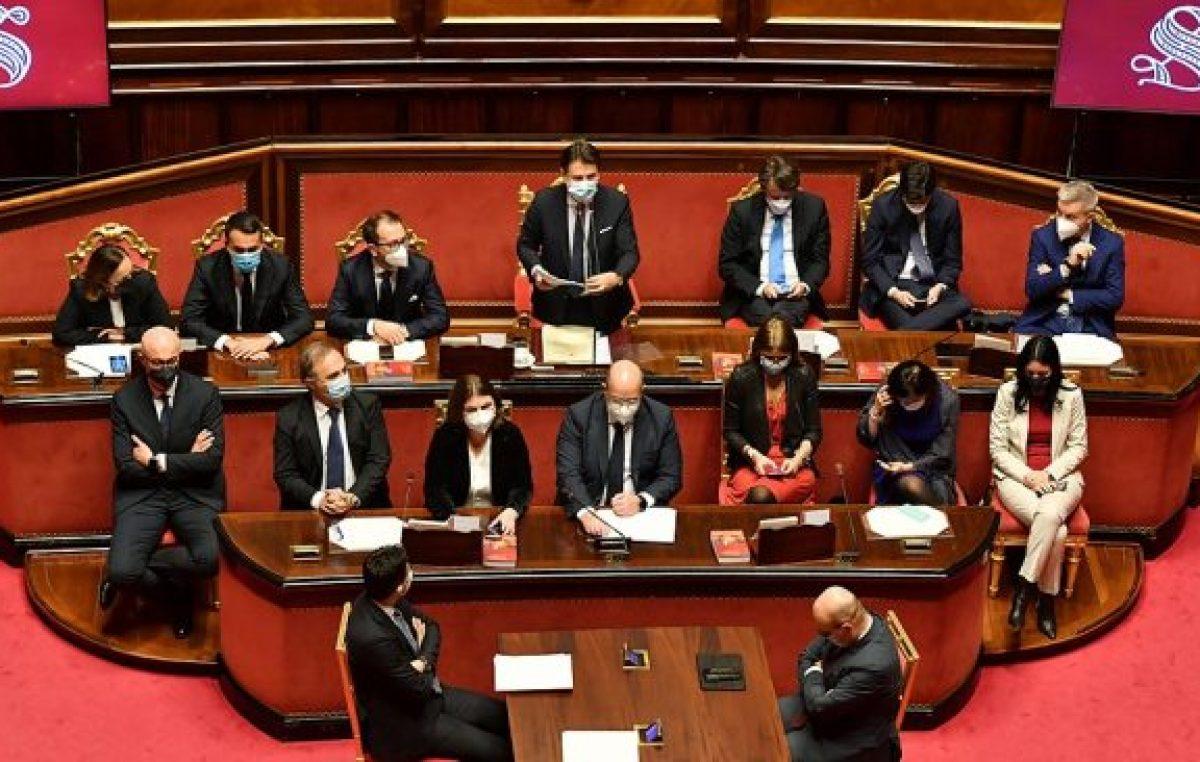 Italia: Conte logró la confianza del Senado y sale fortalecido de la crisis por la ruptura con Renzi