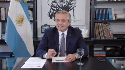 «No hay lugar para ajustes irresponsables», advirtió Alberto Fernández ante el Foro de Davos