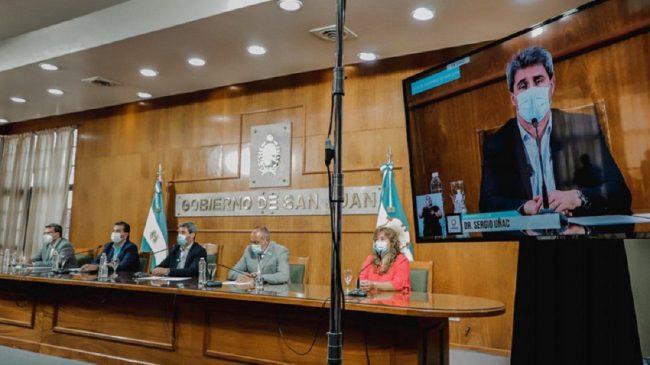 San Juan concretó el pago de $247 millones a los 19 municipios afectados por el terremoto
