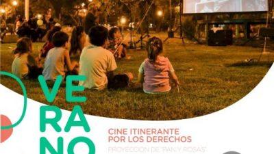 """«Cine itinerante por los derechos"""" comienza en la Costanera Oeste en Santa Fe"""
