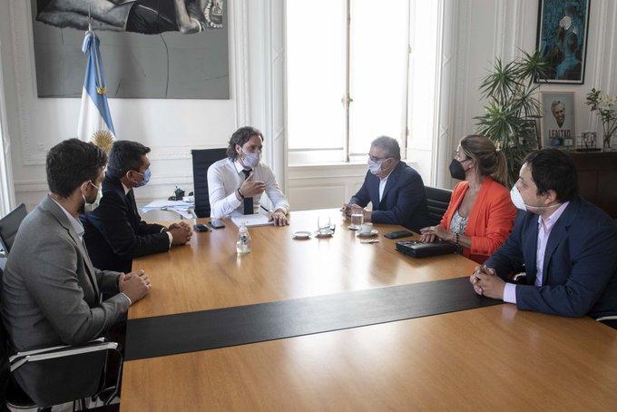 """Cafiero recibió al Gobernador de Catamarca por la reactivación después del """"impasse"""" del macrismo"""
