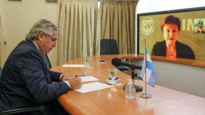 Afirman que el diálogo con el FMI es «constructivo» y que se busca cerrar un acuerdo antes de mayo