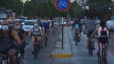 Rosario: Habrá más kilómetros de carriles para ciclistas y estaciones para el alquiler de rodados