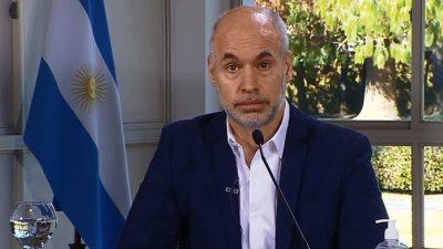 Denuncian que Larreta no testea a los trabajadores municipales