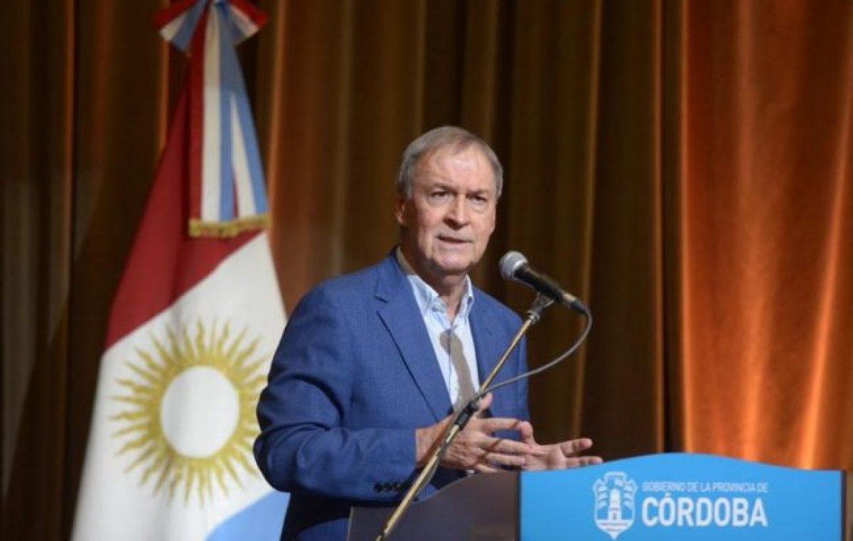 Schiaretti: «Córdoba logró reestructurar su deuda sin entrar en default»