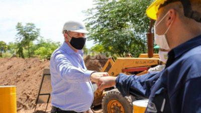 El Gobernador resaltó el impacto de la obra pública nacional en el empleo santafesino
