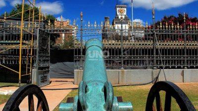 En San Lorenzo restauran el sitio histórico donde descansó San Martín