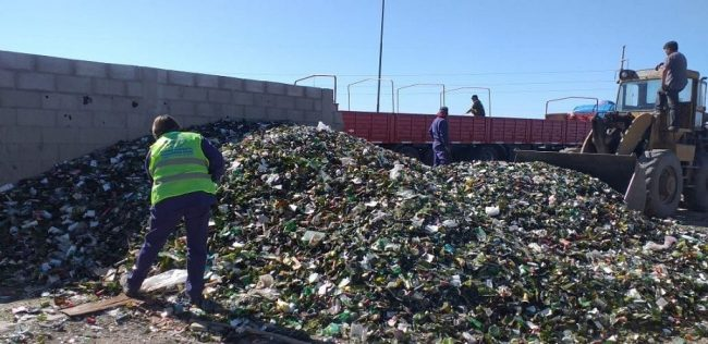 Viedma: más de 26 toneladas de vidrio para reciclado