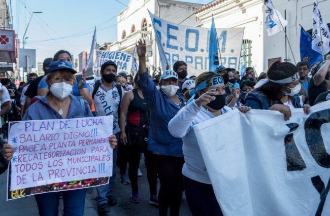 Municipales de Jujuy inician el año con problemas sin resolver: salarios y precarización laboral