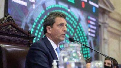 «Pagar con crecimiento, sin ajuste y con programa económico propio», el planteo de Sergio Massa frente a la negociación con el FMI