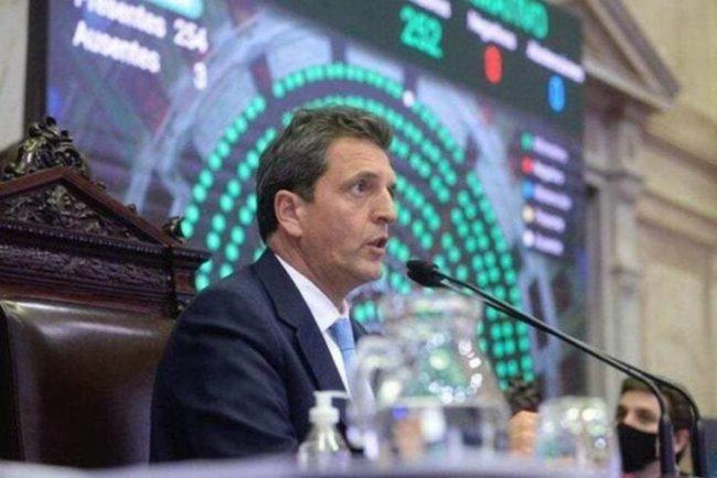 """""""Pagar con crecimiento, sin ajuste y con programa económico propio"""", el planteo de Sergio Massa frente a la negociación con el FMI"""