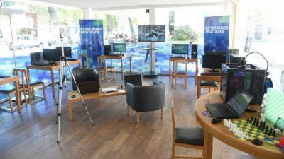 Inauguraron en el Centro Municipal de Distrito Sur de Rosario la primera Estación Digital