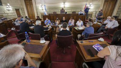 Santa Fe: Senadores Justicialistas del NES se reunieron con FESTRAM