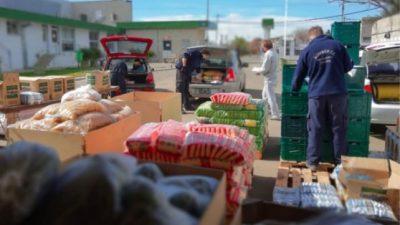 «Contagiemos Solidaridad» entregó 5.000 toneladas de alimentos en Rosario