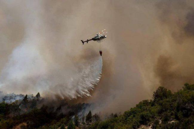 Por los incendios el intendente de El Bolsón pidió ayuda urgente a Nación