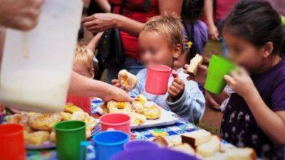 Más sobrepeso y malnutrición en los niños que asisten a comedores santafesinos