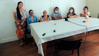 La Madrid: ATM presentó la Mesa Sindical Femenina