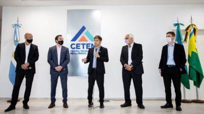 Kicillof: «Las pymes son el mejor ejemplo de cómo debe funcionar la industria argentina»