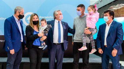 Fernández: «Mi urgencia es con quienes no tienen casa; no acordar con los acreedores»