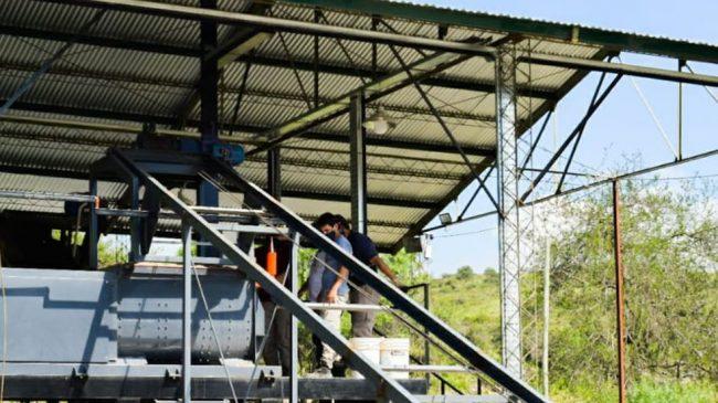 La Falda, la localidad que inaugurará su propia fábrica de adoquines