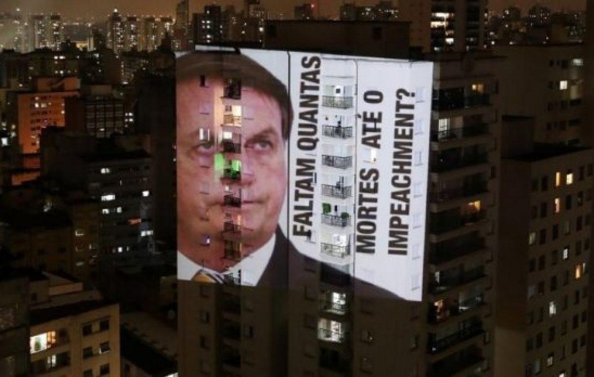 Bolsonaro habló por cadena nacional y Brasil le respondió con un masivo cacerolazo