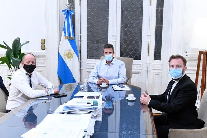 Ganancias: Insaurralde se reunió con Massa y respaldó el proyecto oficial
