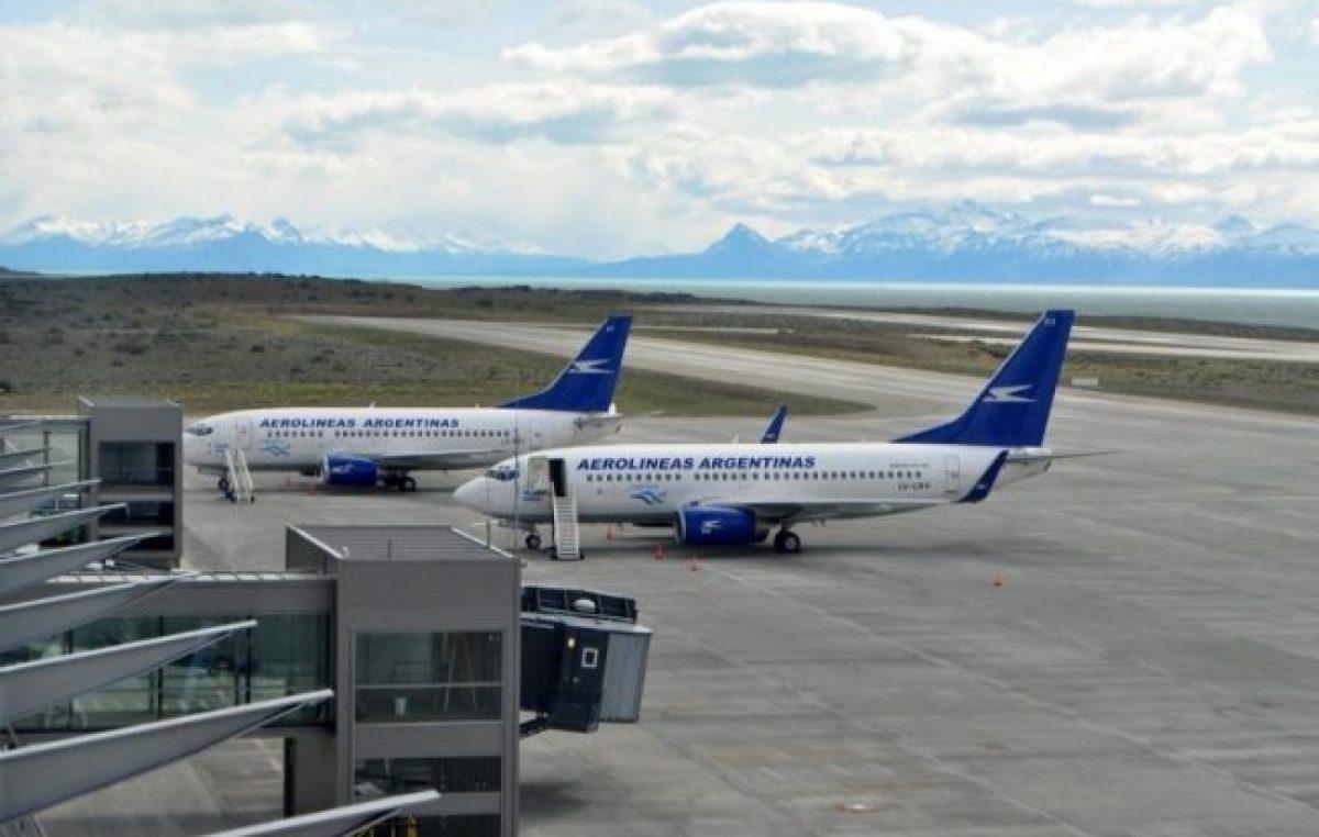 El aeropuerto de El Calafate fue elevado a la categoría de «Internacional»