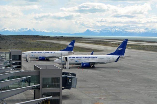 """El aeropuerto de El Calafate fue elevado a la categoría de """"Internacional"""""""