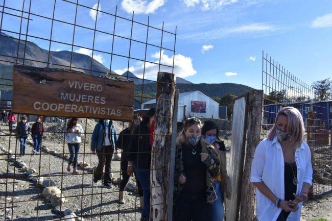 Ushuaia: La Secretaria de la Mujer del municipio visitó la Cooperativa conformada por Mujeres en la ciudad