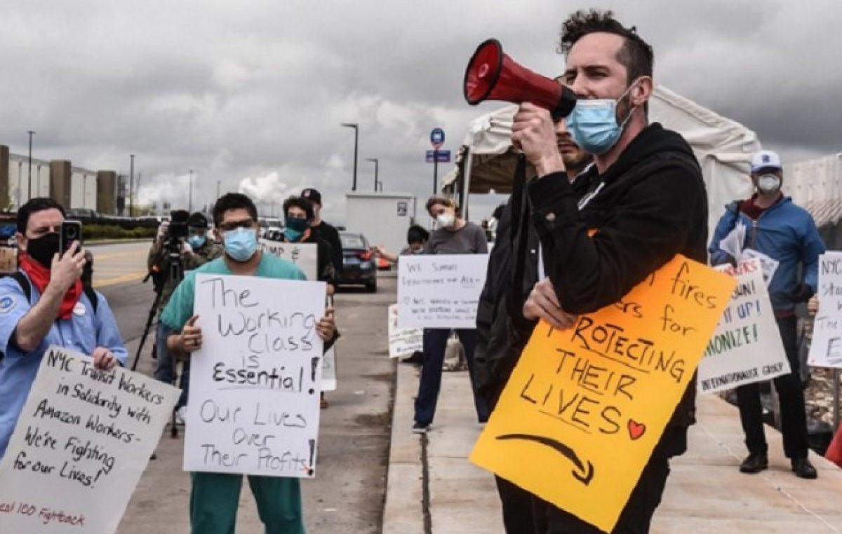 Los empleados de Amazon votan sobre la creación de su primer sindicato