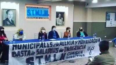 Se iniciaron las primeras negociaciones del año entre el Ejecutivo y los trabajadores municipales de La Matanza