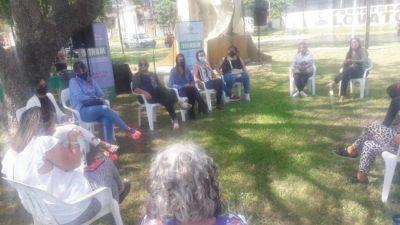Trabajadores municipales de Reconquista realizaron actividad en el marco del 8M