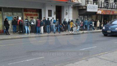 Empleo privado formal repunta en país pero no en Gran Paraná